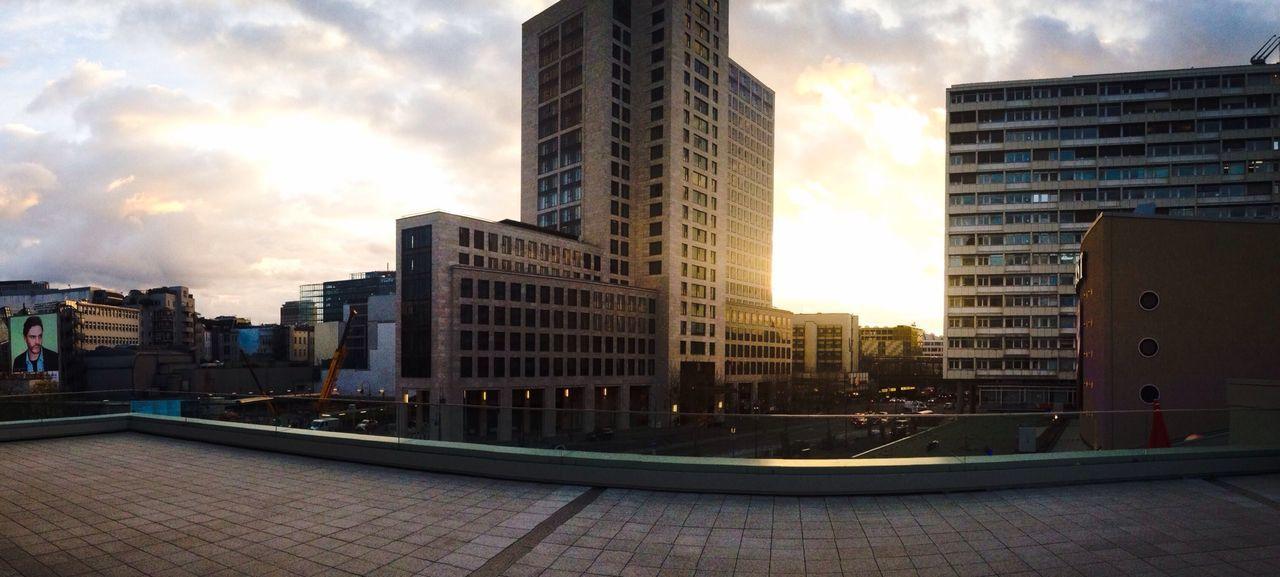 Panorama Clouds And Sky Enjoying The Sun Sunset