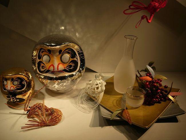 Japanese Traditional Show Window Oshogatsu Shimekazari A Happy New Year