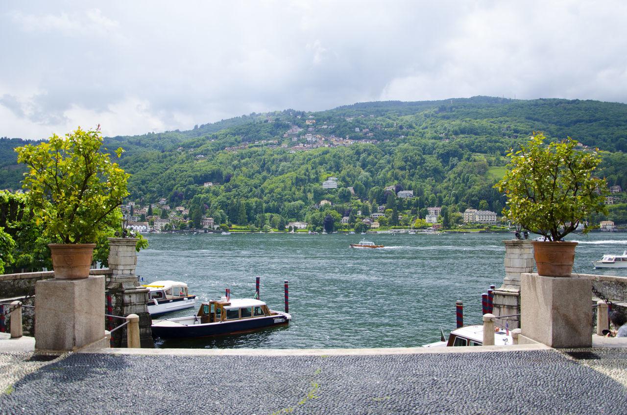 Barche Boat Island Isola Isola Dei Pescatori Lago Lago Maggiore Lago Maggiore, Italy Lake Mountain