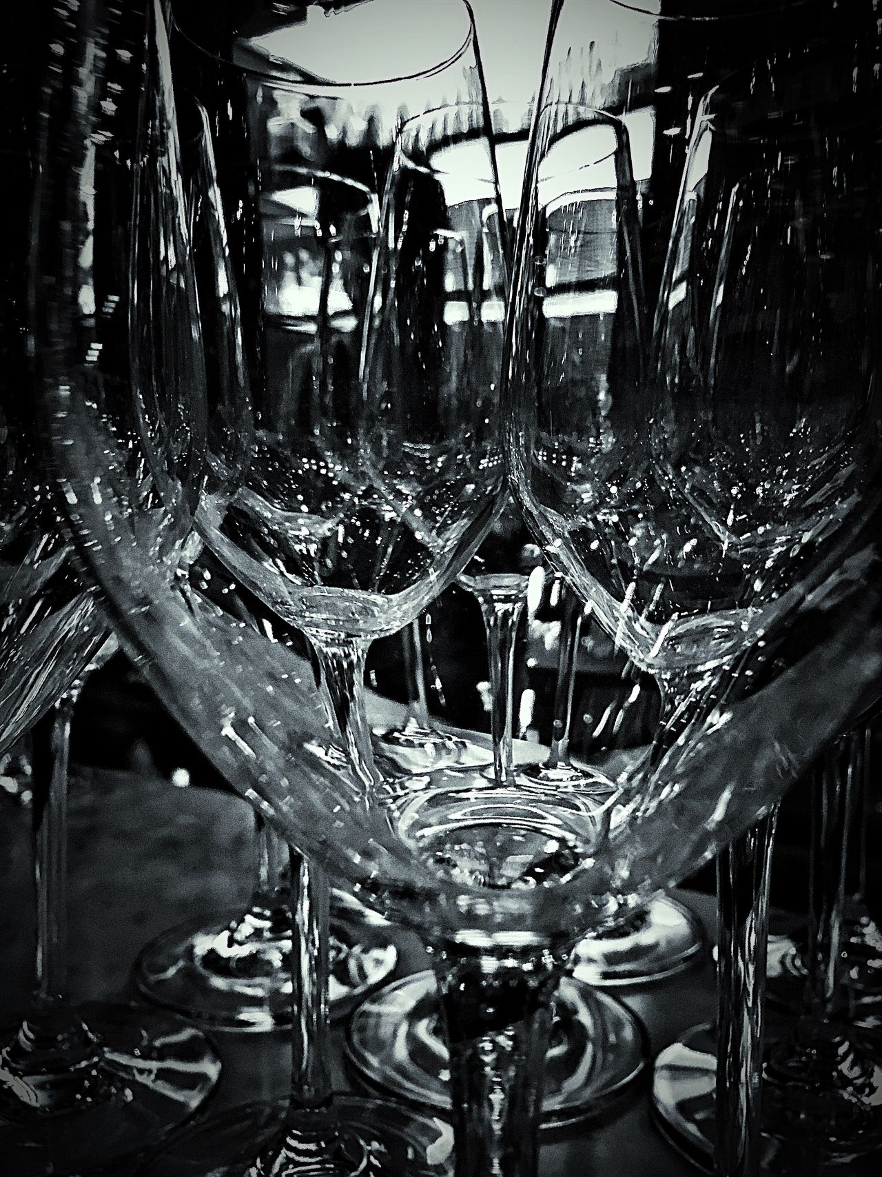 Reflections Wine Glasses Small Business Glasses Clean Summer Summer Views Restaurant Urban Taking Photos Cafe Commercial Photography