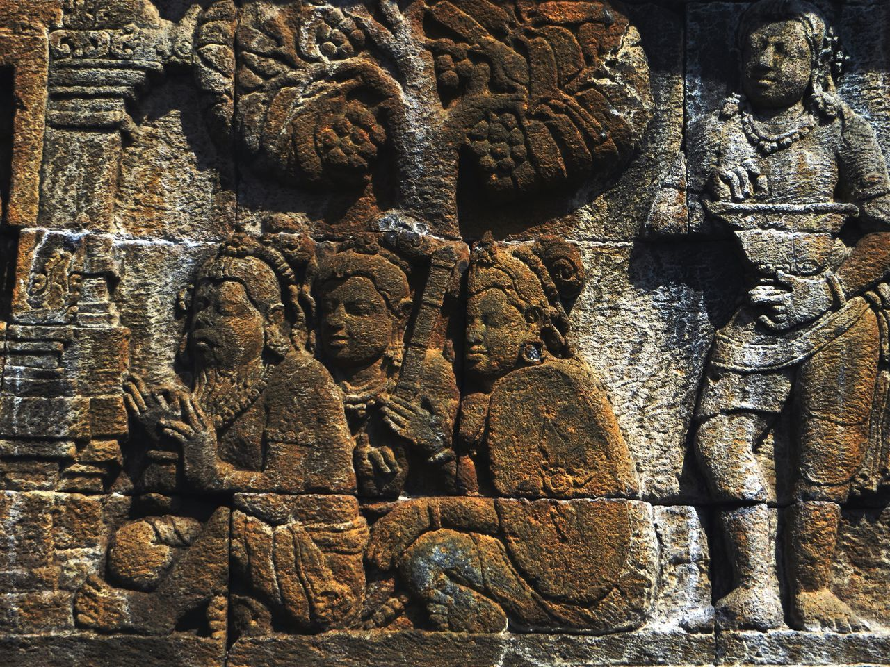 Ancient Ancient Civilization Architecture Backgrounds Buddhist Temple Close-up Cultures Day Indonesia_photography No People Outdoors Place Of Worship Relief Relief Sculpture Sculpture Temple - Building