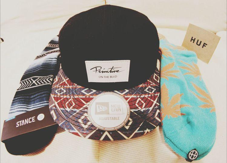 My Christmas gift c: .... Thank you HUF, STACNE, & PRIMITIVE c: Skatelife Stancesocks Primitive Apparel Huf Socks