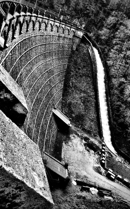 Little dam Blackandwhite Black And White Blackandwhite Photography Solingen Dam