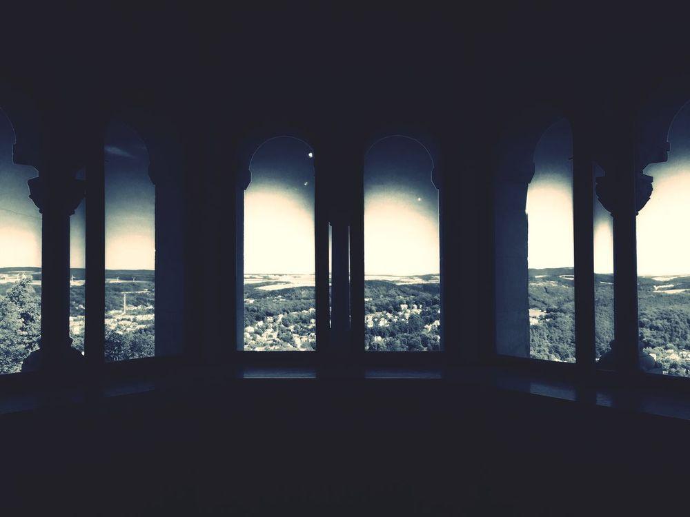 Wartburg In Eisenach/ Germany Window Great Atmosphere Impressive View