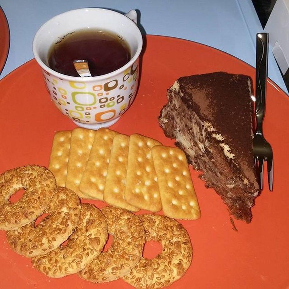Tiramisu Brown Kek Tea Fincan Orange çay Antalya Night