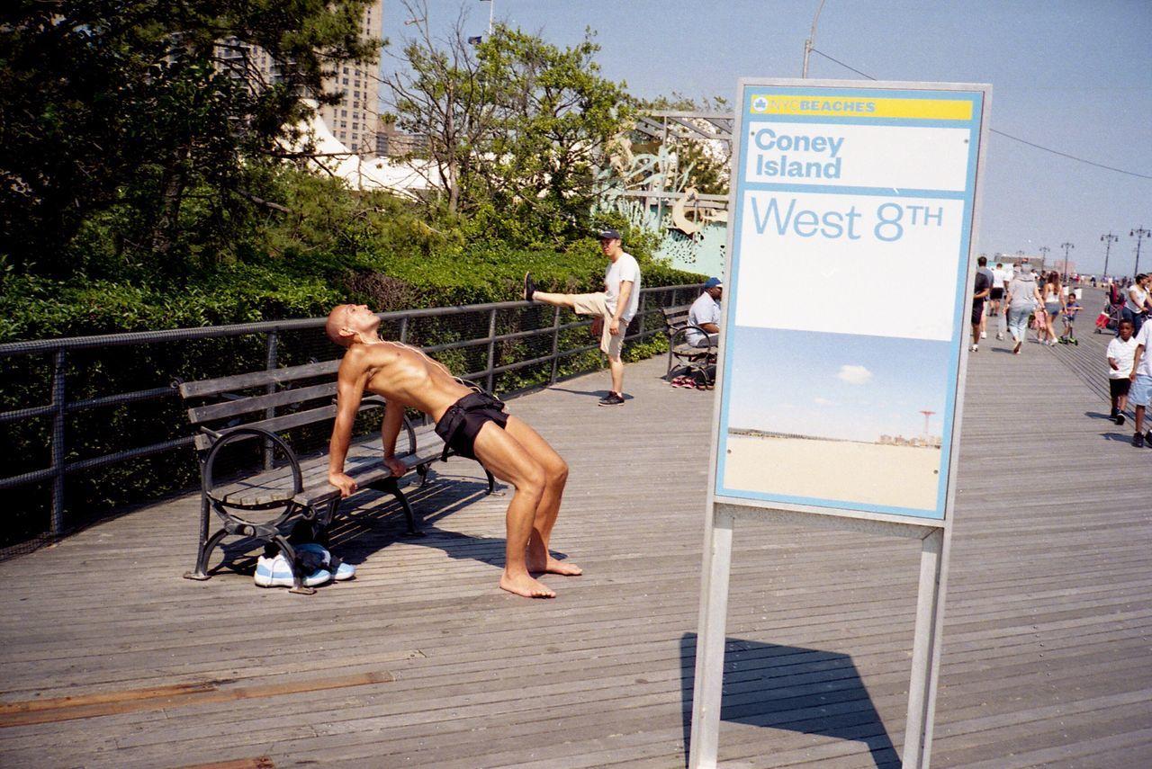 Contax NYC Street Photography Coney Island Coney Island / Brooklyn NY NYC Contaxt2 Film 35mm