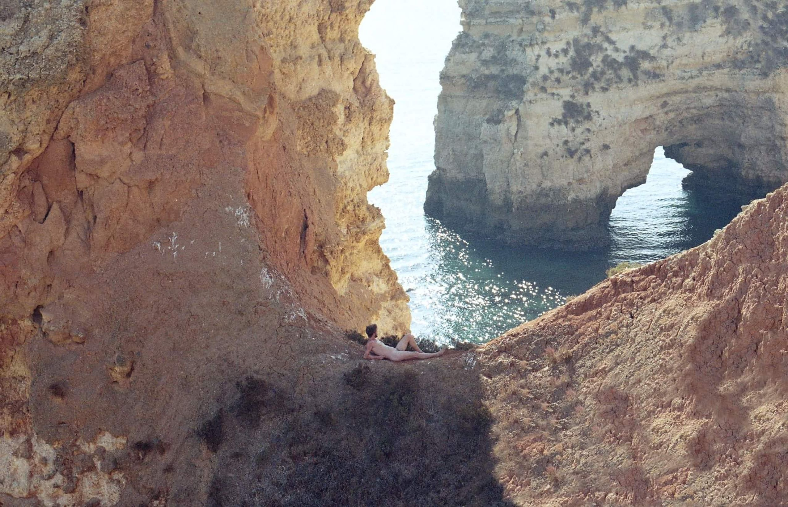 Portugal Boys Project One Person Nature Boys 35mm Film Analogue Photography Paradise Beach