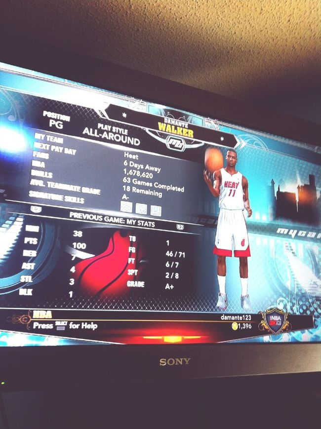 My 8rother MyPlayer Just Cracced 100