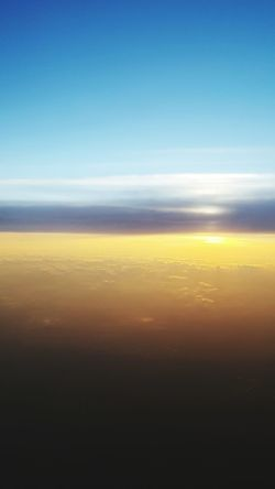 Sky High Planeview Above The Clouds Sunset Colors Of The Sky Serene Sky And Clouds Sky 43 Golden Moments Beautiful Sky High Night Fall On The Way The Great Outdoors - 2017 EyeEm Awards An Eye For Travel