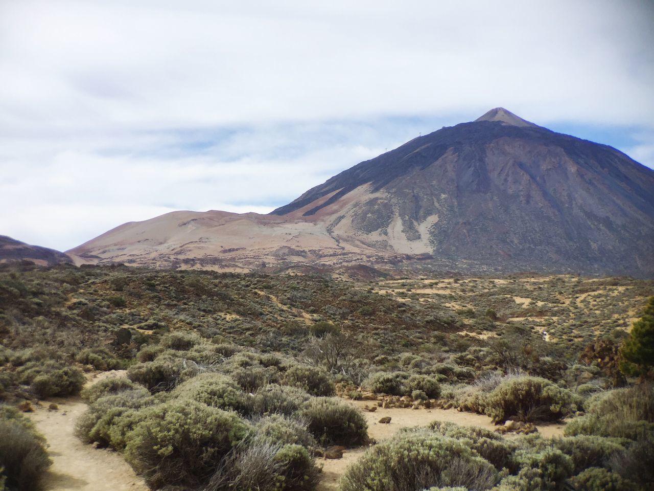 Tenerife El Teide Parque Nacional Del Teide Mountain Desert