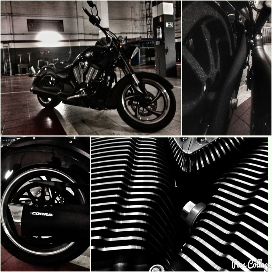 Loving my bike😊 Indoors  Bicycle Motorcycle Transportation Adults Only Bilbao Bilbaolovers Motorcycle Victorymotorcycles Bilbo Mode Of Transport