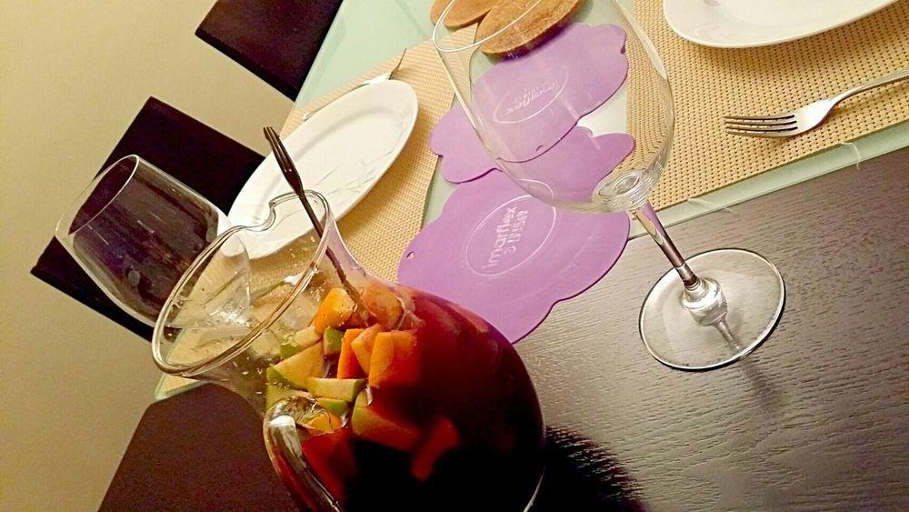 Homemade sangria Drinks Homemade In My Mouf Enjoying A Meal Eyeem Food