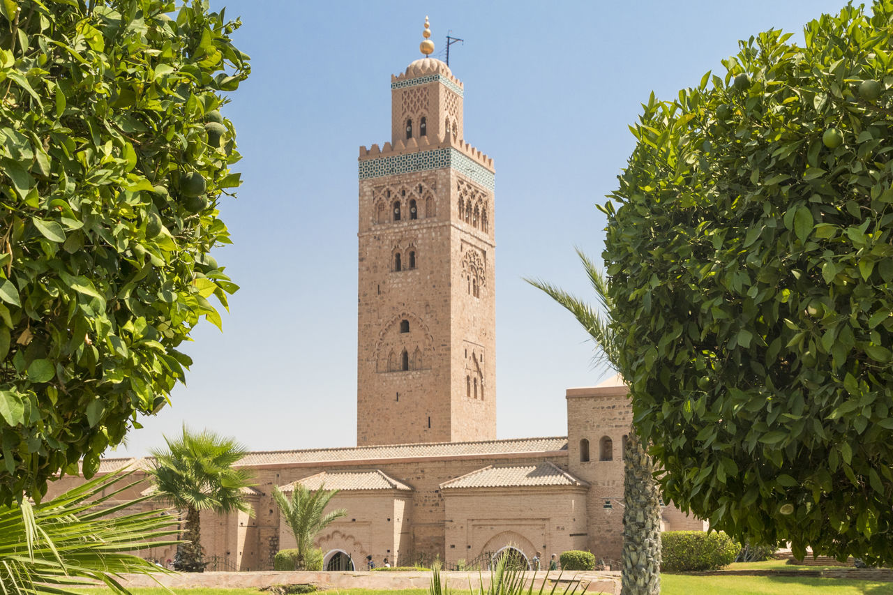 mezquita marrakesh Architecture Marrakech Mezquita Morocco No People Outdoors Religion Sky Tower Travel
