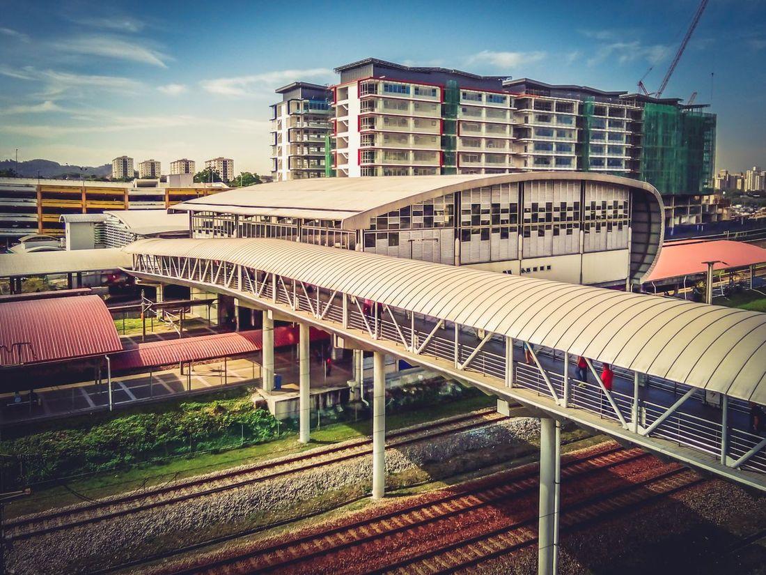 KLIA station, TBS, Kuala Lumpur, Malaysia. Architectural Feature Architecture Ion