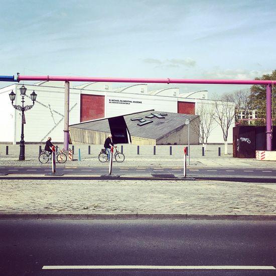 Berlin Germany Architecture Museum Kreuzberg Cycling Cyclist Urban Urban Geometry Jüdisches Museum Berlin Akademie Judischesmuseumakademie ARCHITECT Daniellibeskind The Architect - 2016 EyeEm Awards