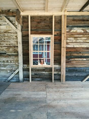 Architecture Wood - Material Window Home Interior Portrait Built Structure No People Building Exterior Day Indoors