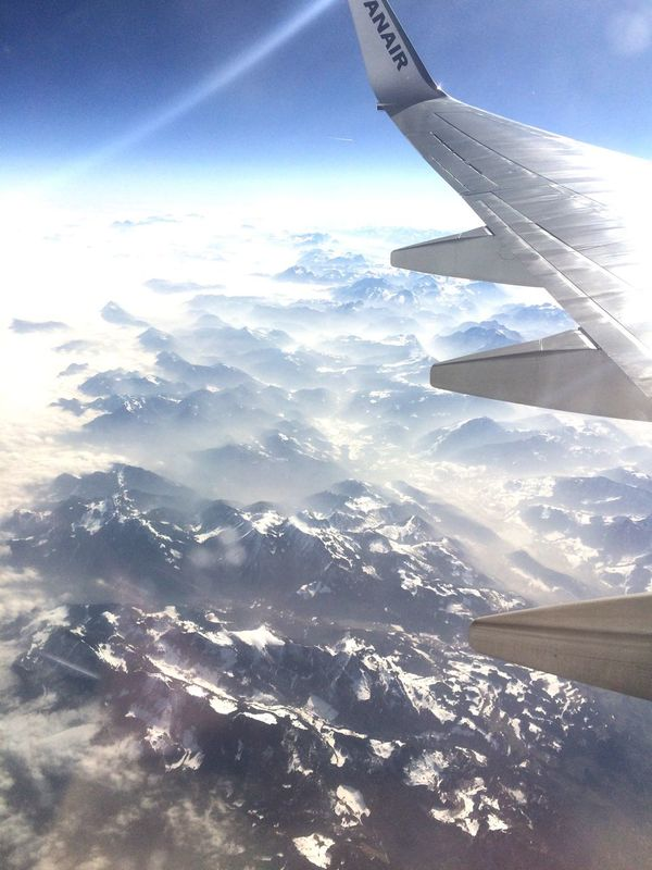 The Perfect Moment Masterpiece Fly Sky Freedom Sun Clouds Air In The Air Trip Travel Emotion Over The Clouds Fog Alps Mountains