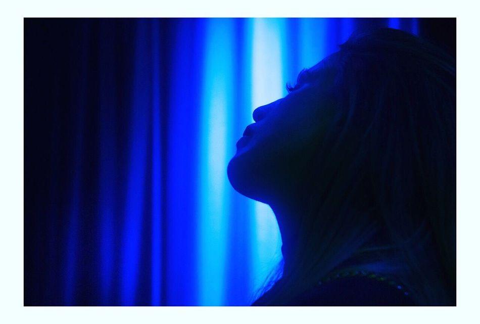 Blue One Person Young Women Shadow Woman Light Startrek Romantic