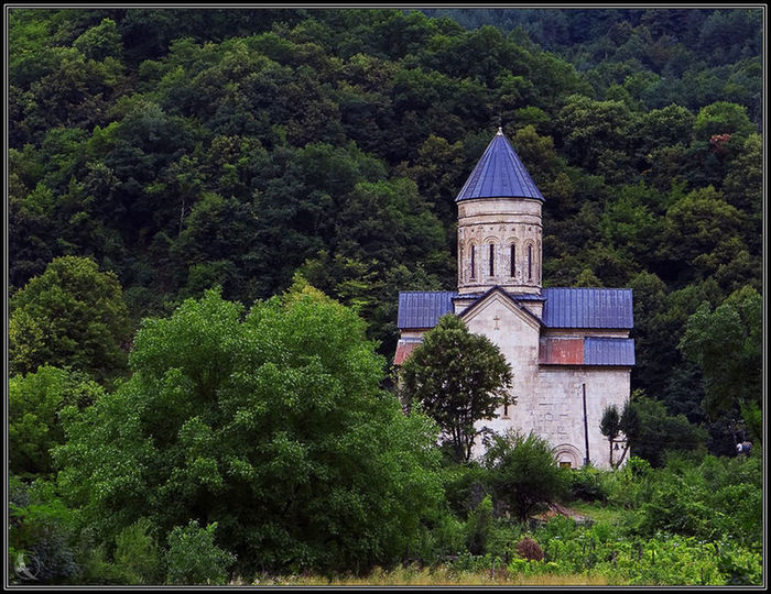 """georgia""lechxumi Church Nature The Forest Wooden Beautiful Nature My Photos Looking At Camera EyeEm Car Day No People"