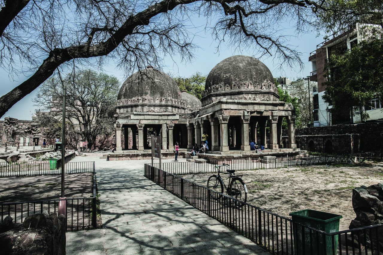 Hauzkhaz Village, New Delhi, India Architecture Bare Tree City Day Dome Hauzkhasvillage History India Indian Culture  Market New Delhi No People Outdoors Sky Travel Destinations Tree Miles Away