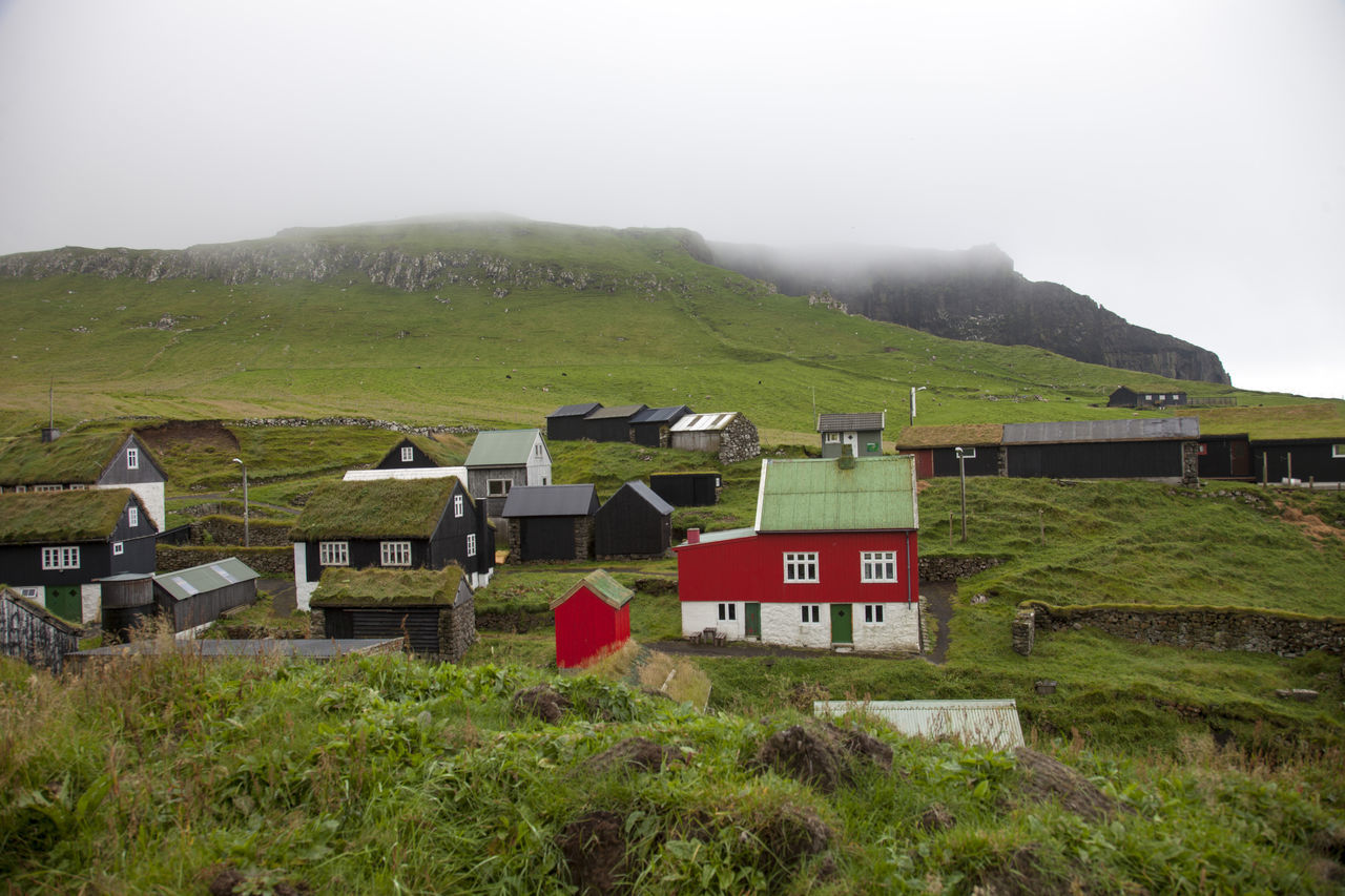 Houses On Hill