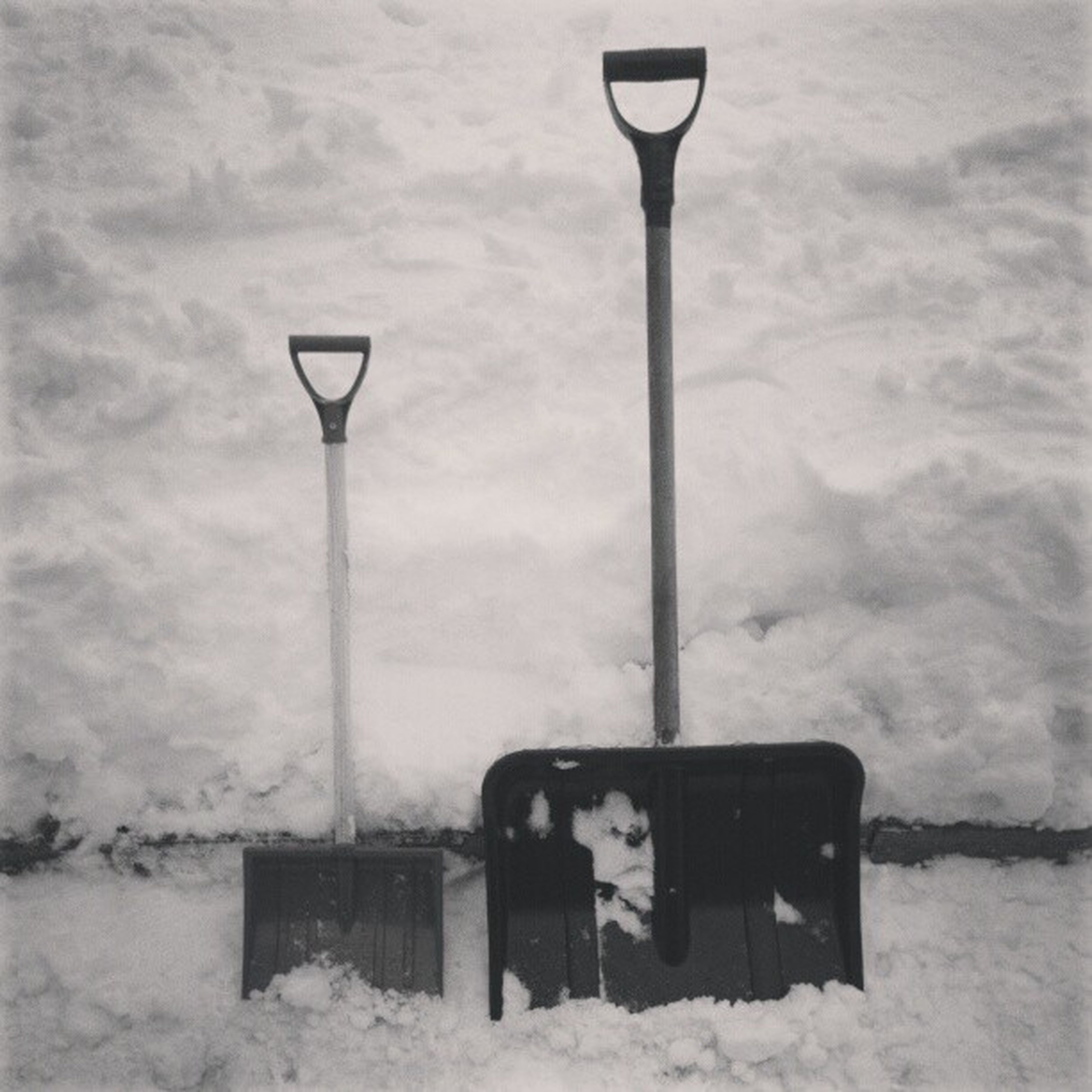 snow, winter, cold temperature, weather, season, sky, street light, covering, white color, nature, day, no people, communication, outdoors, lighting equipment, pole, cloud - sky, tranquility, field, built structure