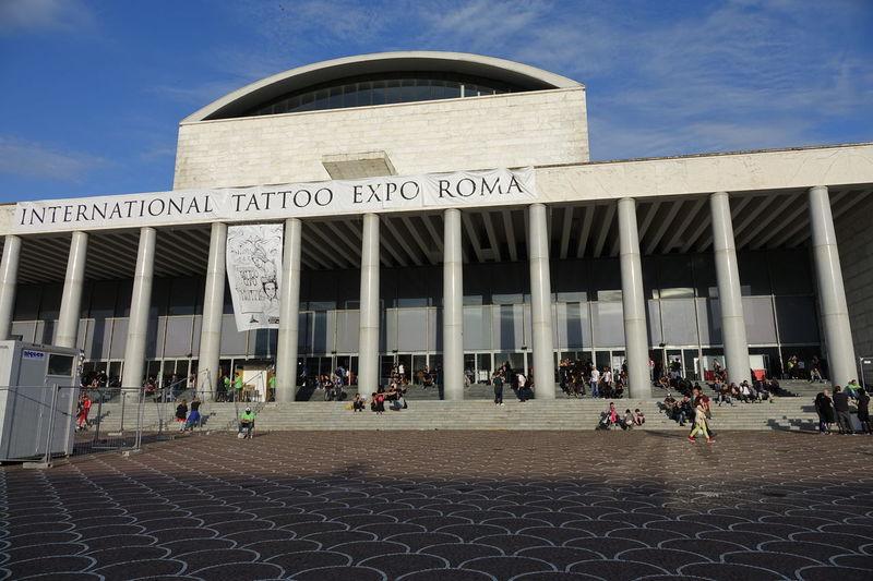 Delle Expo International Landmark Palazzo Palazzo Dei Congressi Roma Tatoo Tatuaggio Tatuaggio. ❤❤