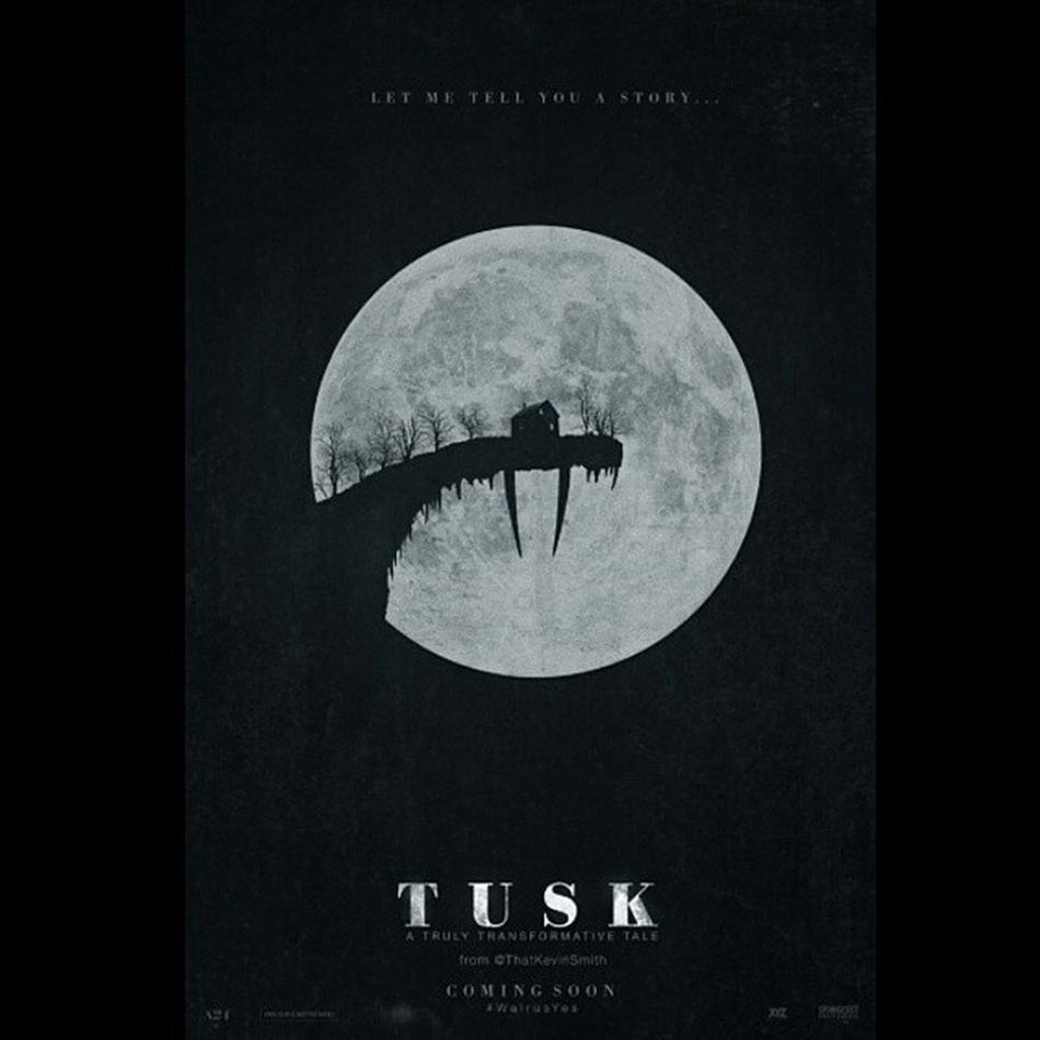 Omggg. I can't wait for this movie! Tusk KevinSmith Justinlong Iamthewalrus