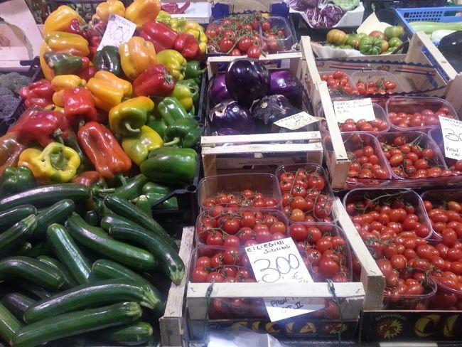 Mercato Centrale Firenze Frutta Verdura