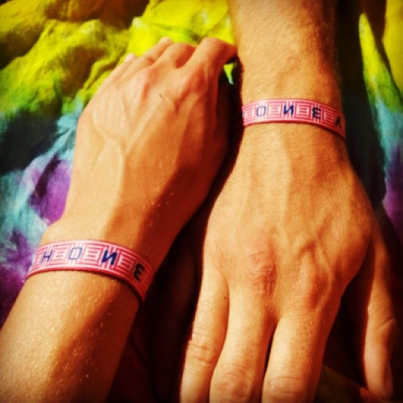 Miss you Fusion <3 Fusionfestival Fusion2014 Postfusiondepression Wristbands bestfestivalever