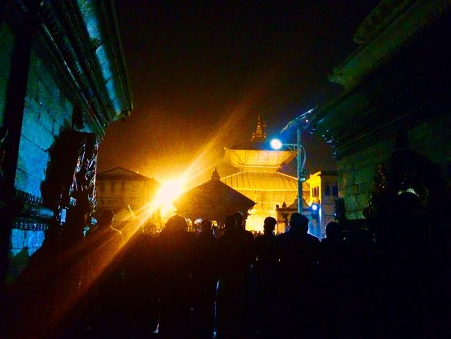 Pashupatinath Nightcapture Fullmoonday Nepal Greattime Traveldiaries