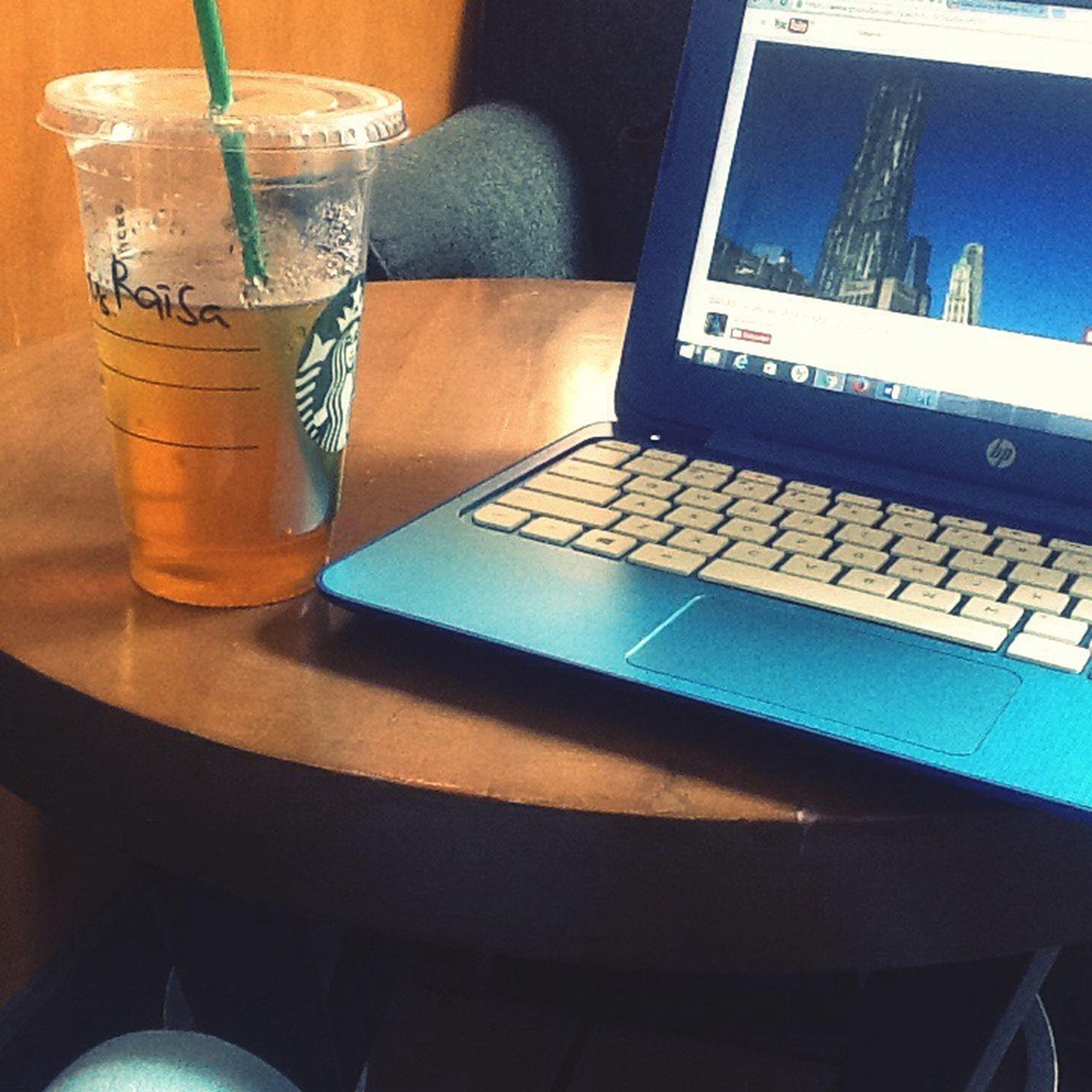 Starbucks Tea Time Taking Photos Spearminttea