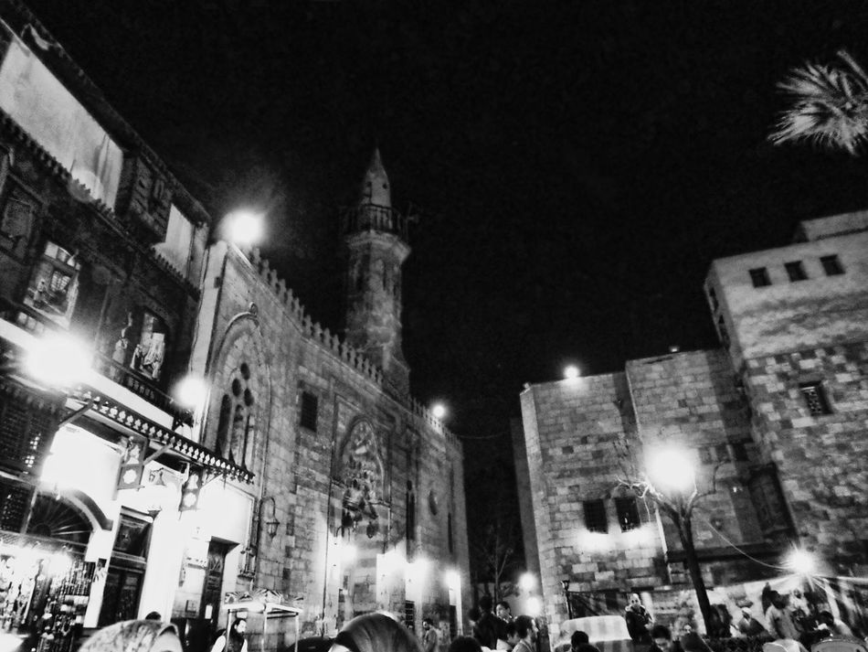 Illuminated Night Architecture Building Exterior Built Structure City Religion Sky Hanging Out With Friends Cultures A Night Out.. Egypt Cairo Mosques Of The World Mosque Masjid