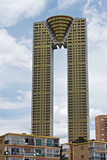 What the?? Architecture Skyscrapers Benidorm Playa Poniente