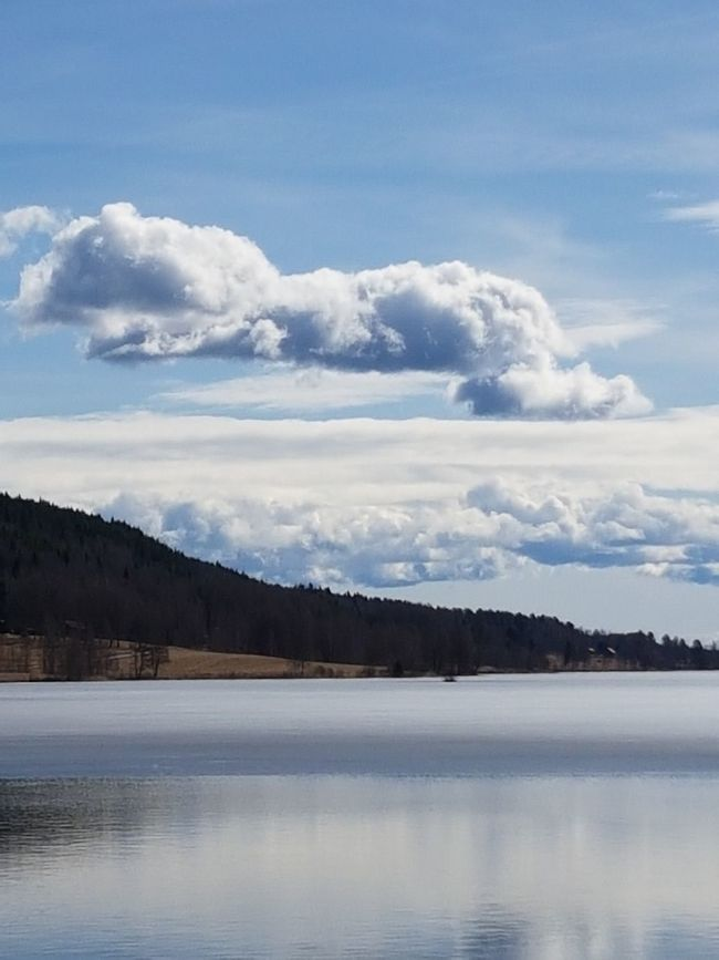 Beautiful Day Lovely Weather Relaxing Enjoying The Sun Blue Water Blue Sky Lake Sweden Beautiful Nature Swedish Nature April2017