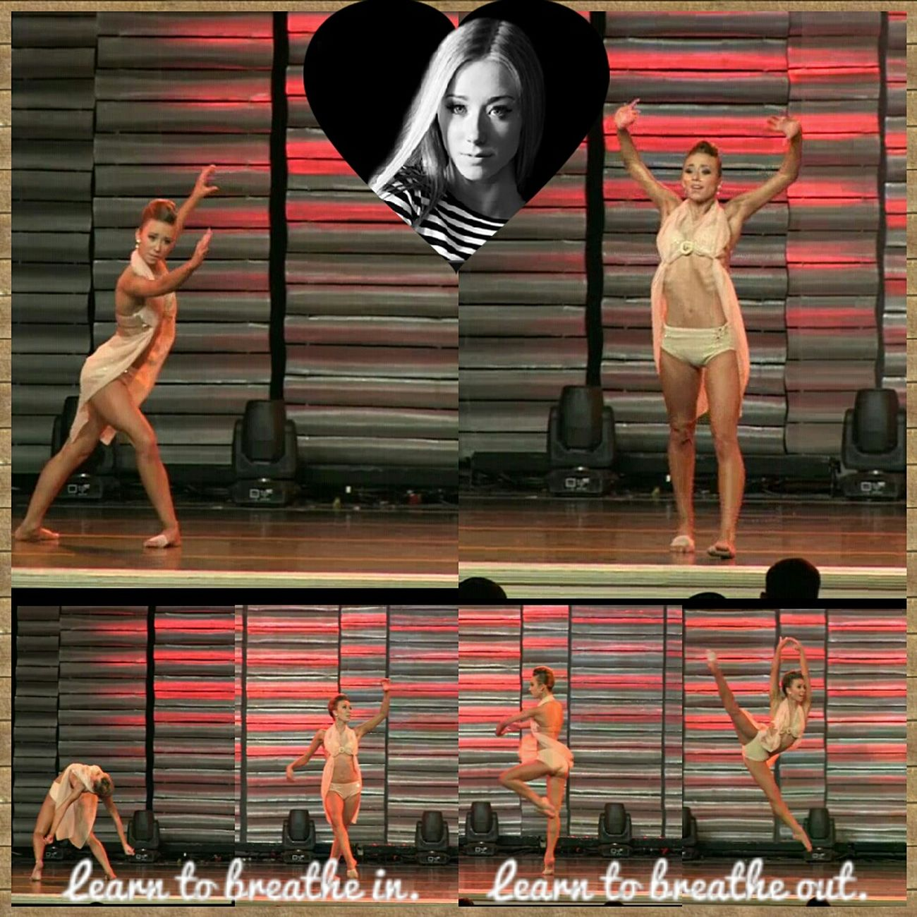 16 year old Hayden Hopkins performing breathe in, breathe out, she is now 17 however. This solo is chorographed by her and she won the senoir best dancer award with it at las vegas. I made hers a collage because not only is she one of my favorite dancers and favorite teen dancer but also one of my favorite choreographers too. So glad that she wants to be a choreographer (even though she is one of the best dancers in the nation) and is already doing it for others, though not profesionaly yet. Hayden Hopkins has toured Australia over 7 times!! Choreographer  Art Dancer Dance Life DANCE ♥ Hayden  Flexibility 17 Double Trouble Dance Dancers