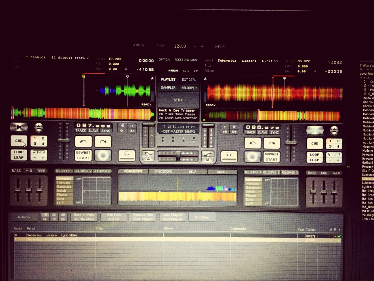 Work in Progress! That's Me Pioneer Dj-Tech Enjoying Life