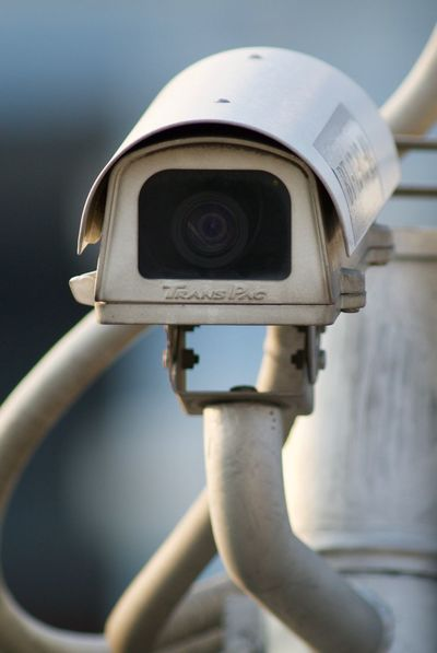 Camera Cctv Close-up Day Metal No People Outdoors Security Camera Technology