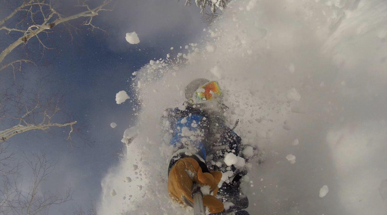Adventure Backcountry Bottomturn Cold Hokkaido; Japow; Horizon Over Water Japow Jonessnowboards Motion Mountains Nature Nippledeep Outdoors Pitted Real People Snowboard Snowboarding Splitboarding Winter