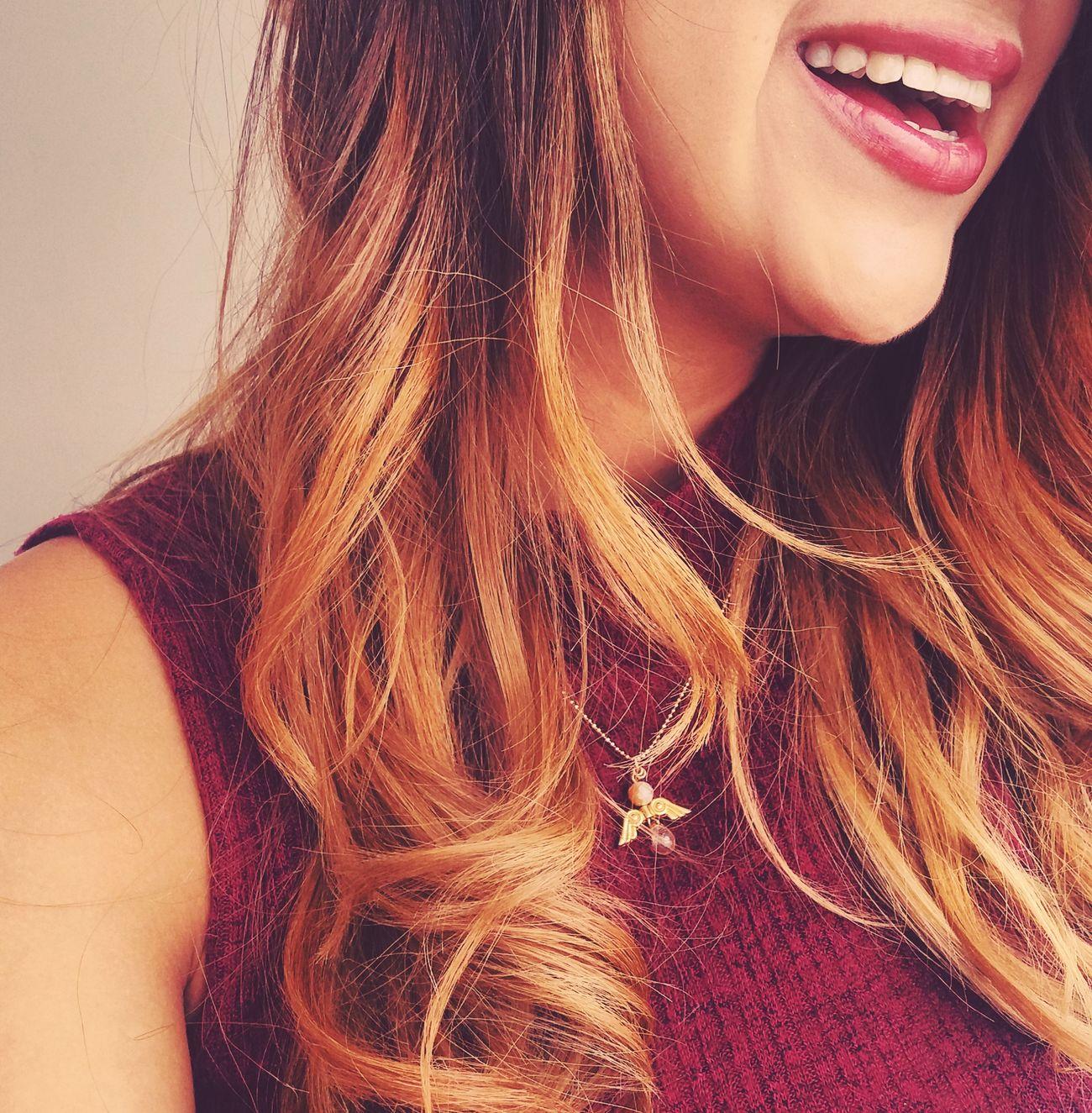 Ella Women Sonrisa Smile Joy Summer People Hair Balayage Hairstyle