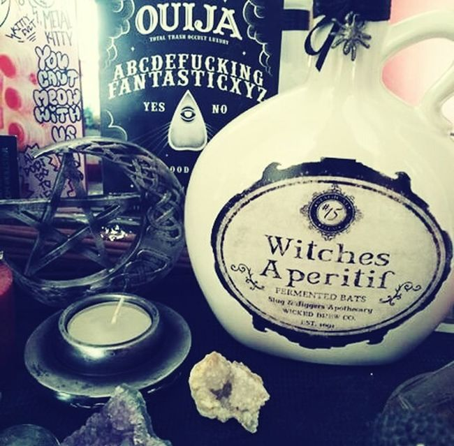 New witch stuff 🌛🔮🌜✌😁 Candlelight Candle Witch Witchcraft  Witches Witchy Witching Hour Moon Moonlight Ouija Ouija Board  Ouijaboard Ouijastuff Witchstones Magic Magical Magic Hour