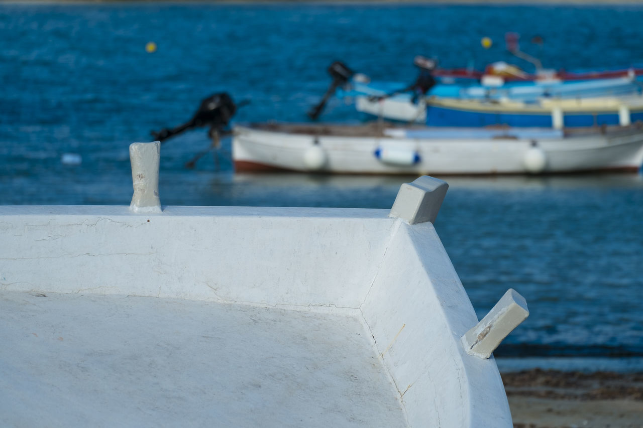 Boat Close-up Day Fishing Fishing Boat Fishing Time Fishing Village Italy Nautical Vessel No People Otranto Outdoors Puglia Salento Sea Water