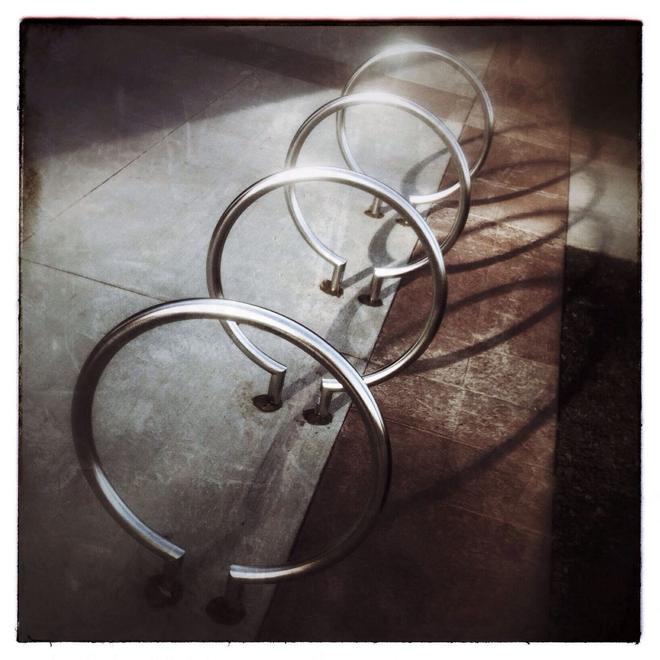 Shinny rings and shadows. IPhoneography Photography Abstract YYC