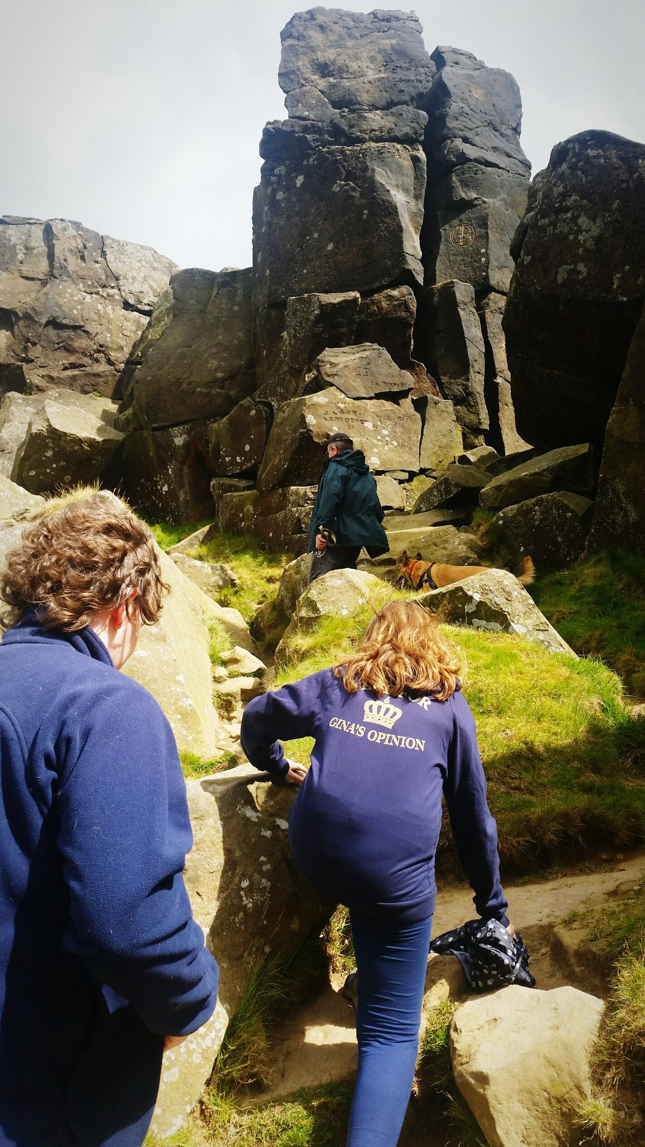Family day out Adventure Buddies Scrambling Family Walks Walks Adventure North Yorkshire Moors Wainstones Nature Dog Walking