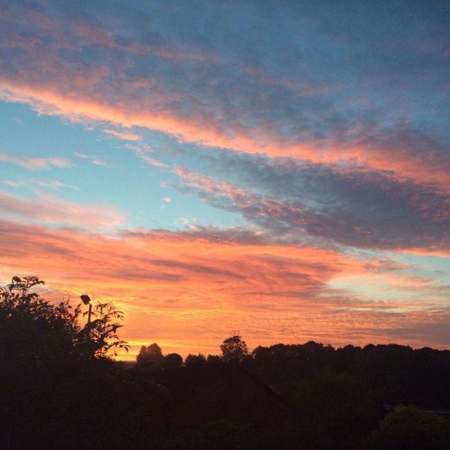 Swindon sunset pt 2. Sunset Swindon Nofilter Nature
