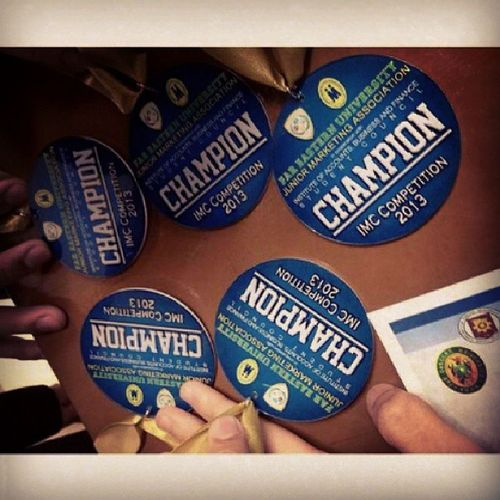 """Im just proud. The fruit of our sleepless nights. Our paper speaks on what we can do even """"without"""" a TVC. :) RubixMSITeam Proud IntegratedMarketingCommunications Champion"""