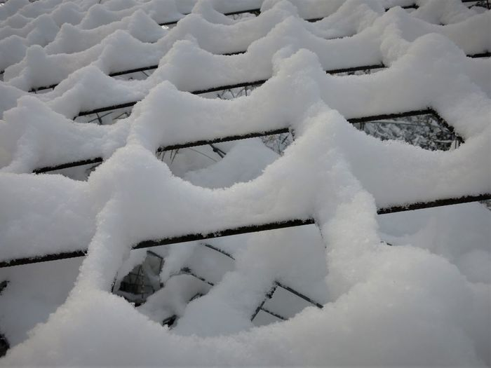 Beauty In Nature Close-up Cold Temperature Day Fence Fence In Snow Frozen Nature No People Outdoors Snow Structure Weather White Color Winter