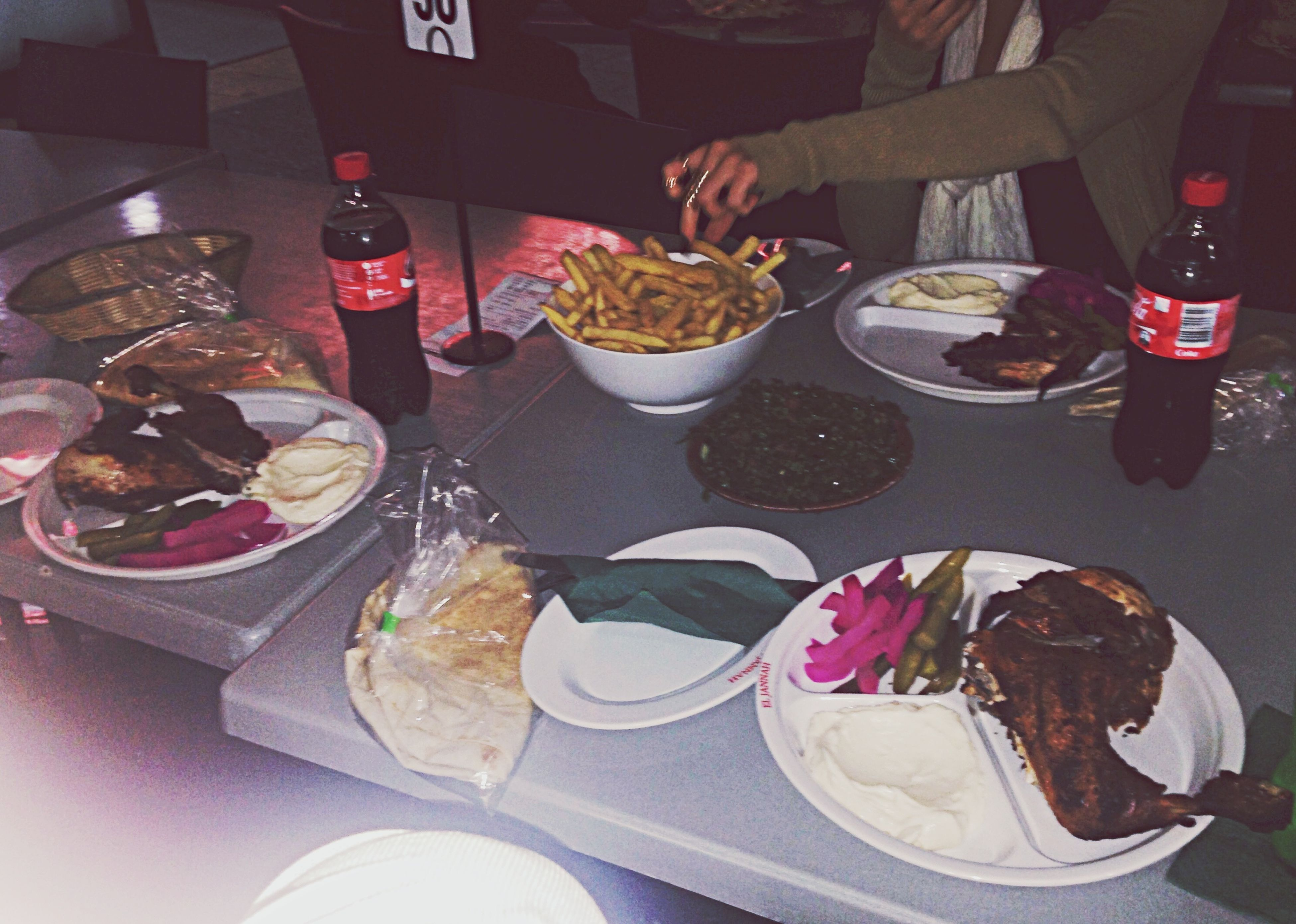 Dinner dates with my gals Dinner Middle Eastern Charcoal Chicken Girls Night Out