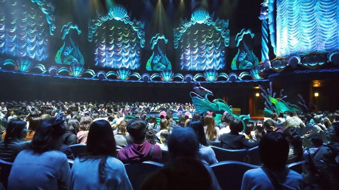 Ariel The Little Mermaid! Disneyland Tokyo