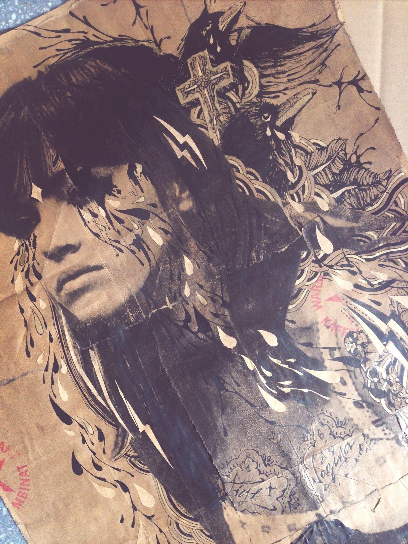 Illustrating Painting Berlin Streetart